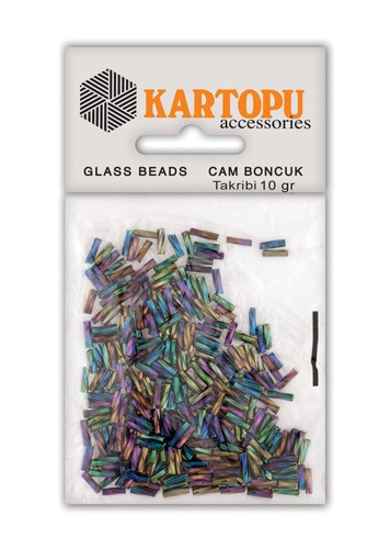 Kartopu Degrade Twist Cam Boncuk - CB1