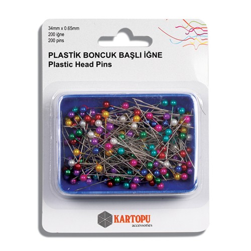 Plastic Head Pins - K002.1.0021