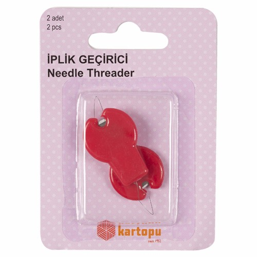 Needle Threader With Cutter - K002.1.0042