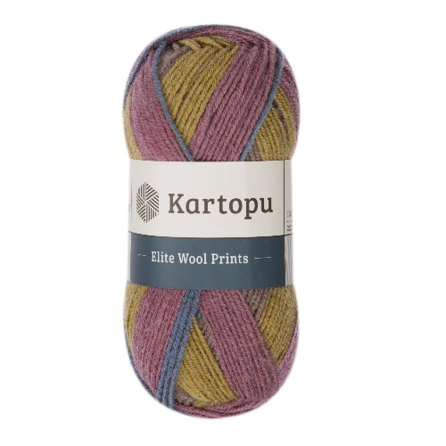 Kartopu Elite Wool Prints - H1912