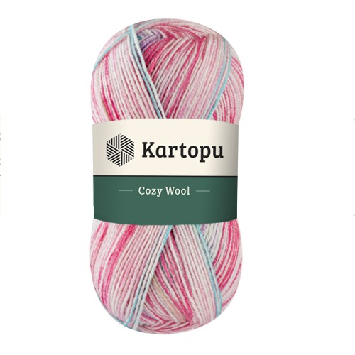 Kartopu Cozy Wool Sport Prints - H1908