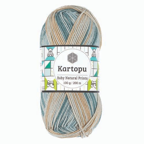 Kartopu Baby Natural Prints - H1798
