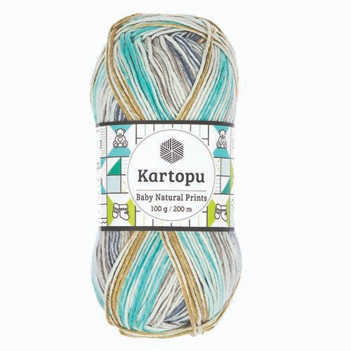 Kartopu Baby Natural Prints - H1805