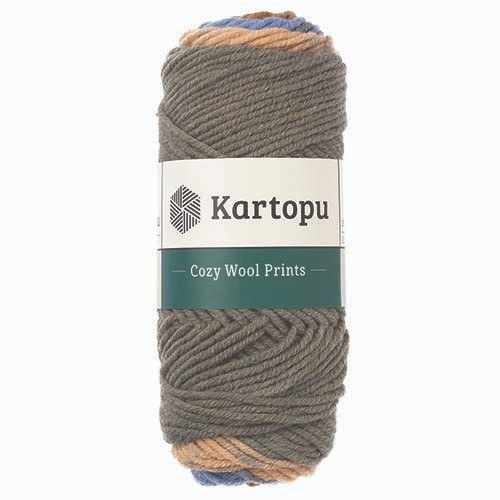Kartopu Cozy Wool Prints - H1871